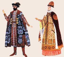 Князь - 11 век, Княжна 11 век. автор - И.Билибин